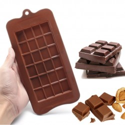 Moule en silicone tablette plaque de chocolat