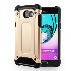 Coque Samsung Galaxy A5 2017 antichoc or gold renforcée