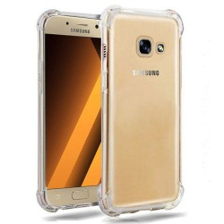 Coque Samsung Galaxy A5 2017 transparent gel coin renforcé