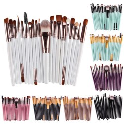 Lot de 20 pinceaux maquillage