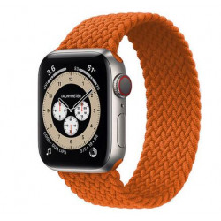 Bracelet pour montre apple iWatch série 3 4 5 se 6 orange
